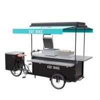 Best Commercial Burger Food Vending Cart Equipped With High Standard Battery wholesale
