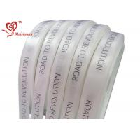 Best 32mm personalized printed ribbon For Wrapping Products , logo printed gift wrap ribbon wholesale