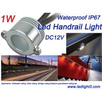 Buy cheap 1W Epistar LED Handrail Railing light DC12V Waterproof IP67 for Sidewalk railing from wholesalers