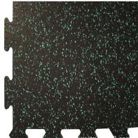 China Colorful EPDM Rubber Sports Flooring / Interlocking Exercise Floor Tiles on sale