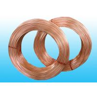 China Welded Refrigeration Copper Tube / Steel  Pipe For Refrigerator 6 * 0.5 mm on sale
