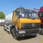 Best HOT SALE! dongfeng 4*2 LHD 10cbm-15cbm mobile lpg gas dispensing truck, cheaper price 5tons propane refilling vehicle wholesale