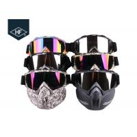 Best Motorcycle Riding Accessories Anti Fog Ski Goggles  , TPU Frame Motorcycle Riding Glasses wholesale