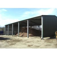 Best Multi Purpose Steel Barn Structures For Rural With Open Sided Steel Sheet Clading wholesale
