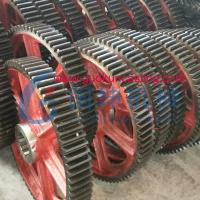 China Hot Forging Gears China factory in carbon steel, alloy steel, drop forged gears on sale