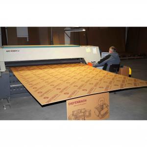 China Large Format Digital Printer For Corrugated Board , Board Printing Machine on sale