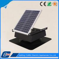 Best 20W 12V Solar Powered Roof Extractor Fan Reduce Moisture Buildup In Your Attic wholesale
