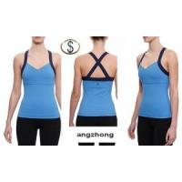 Best Women′s Sleeveless Yoga Vest Yoga Vest, Tanks Fashion Lady Sport T-Shirts wholesale