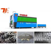 Best Fiber Laser Metal Cutting Machines Cutting Thickness SS Upto 12mm , 3000x1500mm wholesale