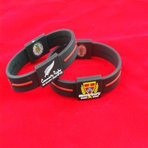 Best OEM Silicone Balance Bracelet Energy Power Wristband With Hologram wholesale