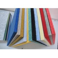 Buy cheap Room Sound Insulation Polyester Fabric Acoustical Wall Panels Customized product