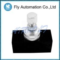China RE-01 RE-02 Air Hand Valve Black 1/8 Manual Control Valve Low Power Consumption on sale