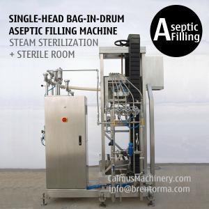 Best Single-head 200 Litre Bag in Drum Fruit Puree Paste Aseptic Filler wholesale