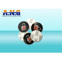 Best Plastic Coin Token Programmable Rfid Tags With 3M Adhesives,13.56Mhz Frequency wholesale