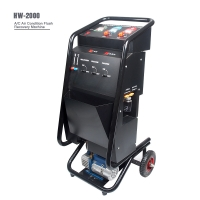 Best Semi Automatically 750W Car AC Service Station 8HP Freon Recovery Machine wholesale
