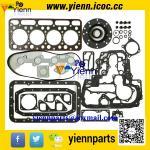 Best Kubota V1702 V1702BA engine rebuild parts piston +ring+full gasket kit with head gasket for BOBCAT CLART 743 SKID LOADER wholesale