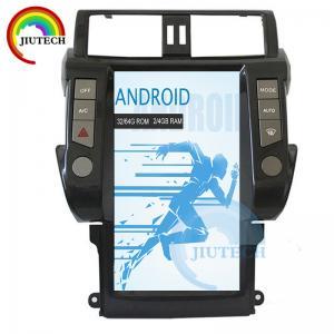 China Radio Bluetooth Media Player For Car Toyota Land Cruiser Prado 150 2010 - 2013 on sale