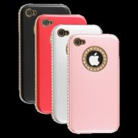 Best Fashion Sheep Pattern Rhinestone Case for iPhone 4 4S wholesale