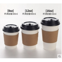 Best Food Grade 45mm 4ozA Compostable PLA Coated Paper Cup wholesale