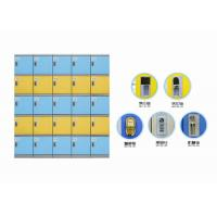 Best Colorful Abs Plastic Locker Good Anti Corrosive Performance For Staff Changingroom wholesale