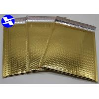 Buy cheap Biodegradable Metallic Bubble Mailers 6*9 Inch Flat Surface Customized Logo from wholesalers