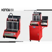 Best Red Full Automatic Injector Ultrasonic Cleaning Machine Nozzle Test Equipment wholesale