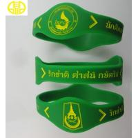 China Boys Silicone Wristbands Power Bracelet , Silicone Wrist Bands on sale