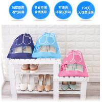China Colorful Canvas Shoe Storage Bags Dust Prevention With OEM / ODM Services on sale
