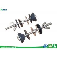 China Solid Stainless Steel Toilet Bolts / WC Bolt For 2 Pieces Toilet , Long Endurance on sale