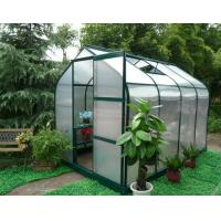 Best strong frame greenhouse with single sliding door wholesale