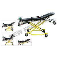 Cheap Aluminum Alloy High Strength Roll-in Self Collapsible Ambulance rescue stretcher for sale