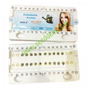 Best ANGLA Orthodontic Brackets Mini Roth 0.022/HK 345 wholesale