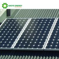 Best Commercial Flat Roof Solar Mounting System For Corrugated Trapezoidal Metal Sheets wholesale