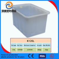 Best plastic turnover box with bottom drainage holes wholesale