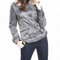 Buy cheap Women's down jacket with detachble fur neck from wholesalers