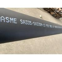 Best Black Painting Alloy Steel Seamless Pipes Corrosion Resistance With ISO9001 wholesale