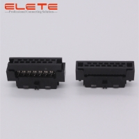 Buy cheap 2*17pins Rectangular Receptacle Connector IDC for ribbon cable alternative to from wholesalers