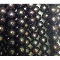 Best 9-10mm bead coffee mixed color semi-finished natural freshwater pearls wholesale