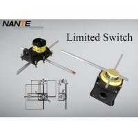 Best Galvanized Steel Electric Wire Rope Hoist Double Poles Yellow / Blue Cross Limiter wholesale