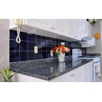 China Nature Stone Norway Blue Pearl Granite Countertop , Prefabricated Granite Countertops on sale