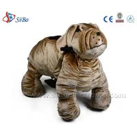 Best Walking Ride On Mall Animal Kids-Coin-Operated Plush Motorized Animals wholesale