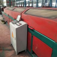 China High Efficient 15kw Straight Wire Drawing Machine , Steel Wire Drawing Machine on sale