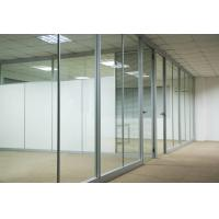 Buy cheap Custom Waterproof Aluminum Glass Office Partitions With Clear / Frosted Glass from wholesalers