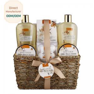 Best 250ml 300ml Beauty Bath Gift Sets Moisturizing Feature Customized Logo wholesale