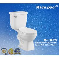 Best Ceramic Sanitary Ware Siphonic Two Piece Toilets Wc (DL-002) wholesale