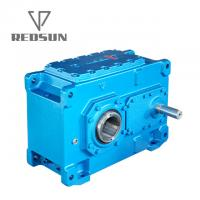 China H series Industrial Parallel Shaft Gearbox Gear Transmission For Conveyor Belt housing material machinery repair on sale