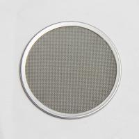 Best Metal Porous Wire Mesh Filter Disc Corrosion Resistant Customization Support wholesale