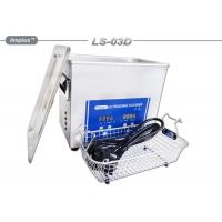 China Portable 3L Ultrasonic Cleaner Electronics Diesel Fuel Injector Cleaning on sale