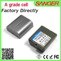 Best 7.2V Real capacity video camera battery for canon BP412 wholesale