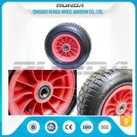 China Ball Bearing Heavy Duty Pneumatic Caster Wheels16inches Non Floor Damaging on sale